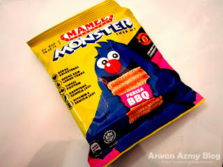 Mamee Monster, BBQ Flavour