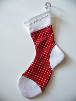XMAS SOCK FREE PATTERN