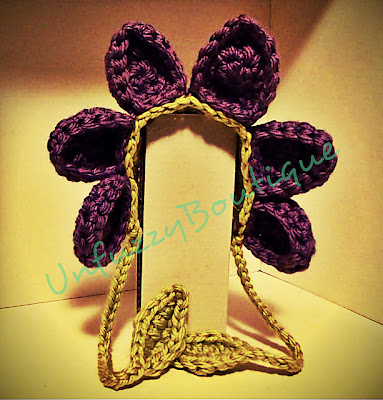 free crochet floppy flower bonnet a great photo prop for baby