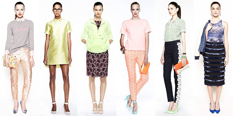 J.Crew Spring Summer 2013 Collections