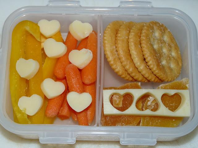 heart snack bento