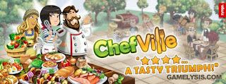 Chefville cheats hack bonus free gift reward links logo guide