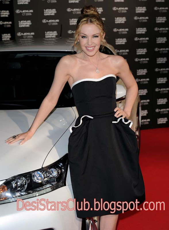 Kylie Minogue At Lexus CT 200H Photocall