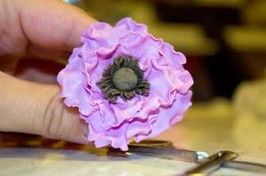 цветы-заколки своими руками