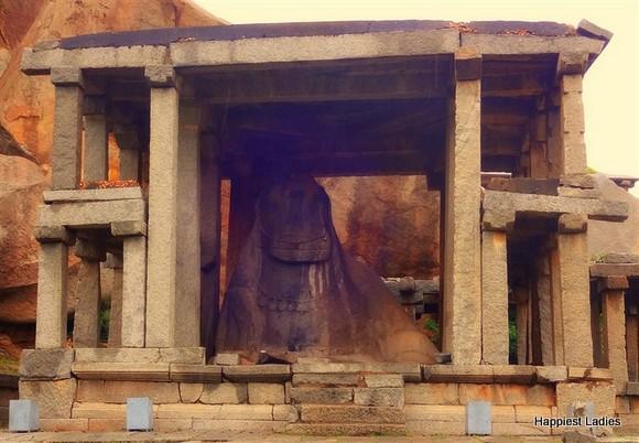 Monolithic Bull Hampi