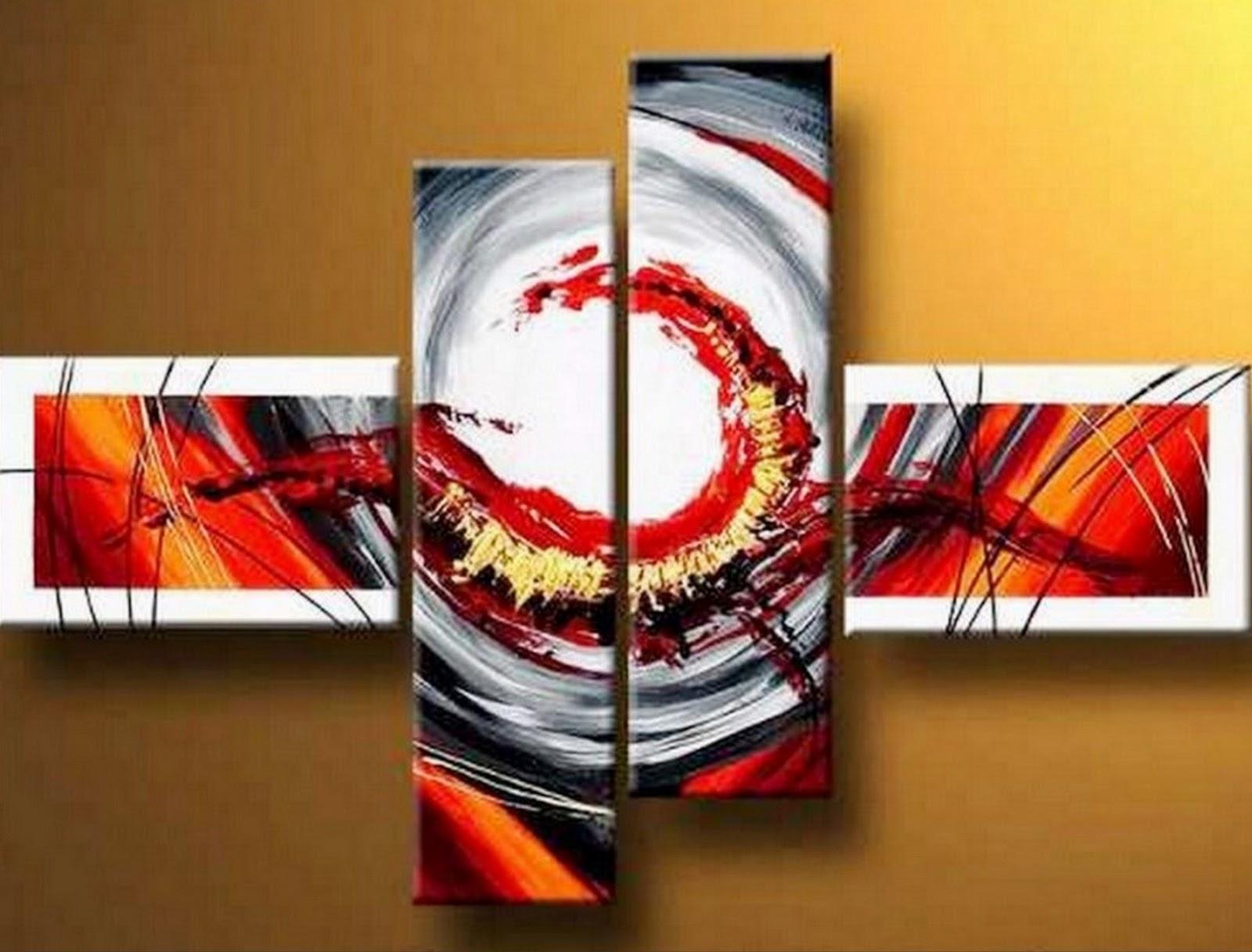 Im genes arte pinturas cuadros abstractos modernos for Cuartos modernos