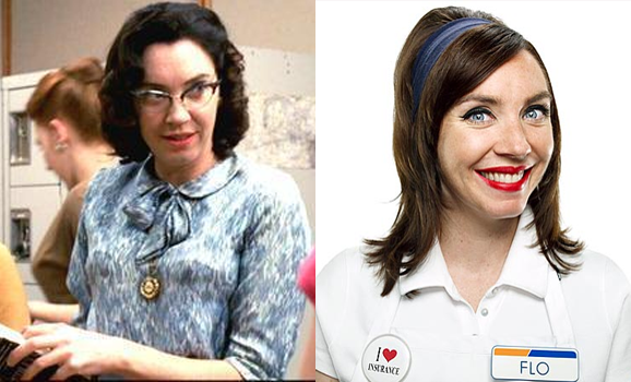 ... the endlessly perky spokeslady for Progressive Insurance, is played by ...