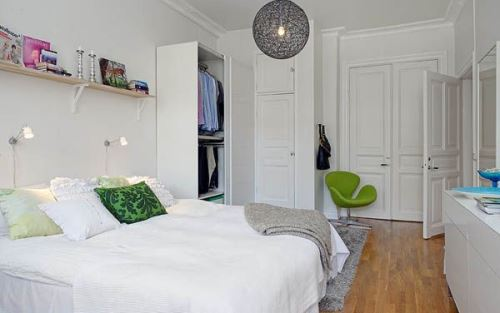 kecil tidak hanya perihal membuat interior yang hemat tempat Ide Desain Kamar Tidur Sempit