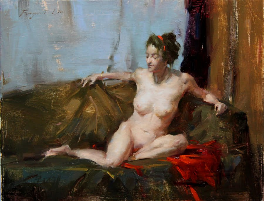 I Plan To Paint Some Small Nude Figures This Year Here Is The First One Did Find That Difficult Full Figure With All Details On A