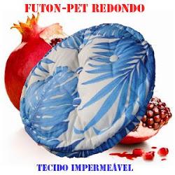 Futon-Pet redondo