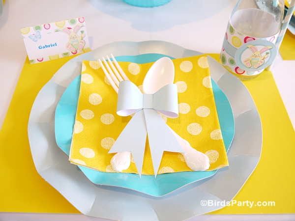 Easter Kids Brunch Party Ideas and Printables