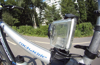 Top Tube Mount GoPro HD