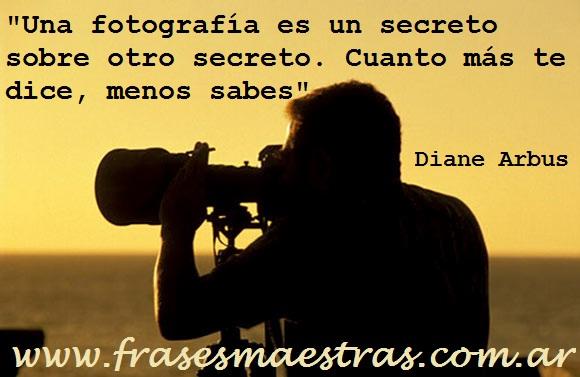frases de Diane Arbus