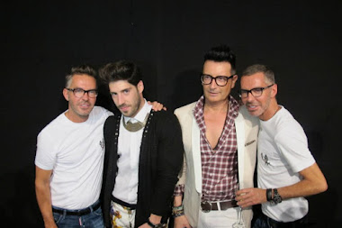 BACKSTAGE DSQUARED