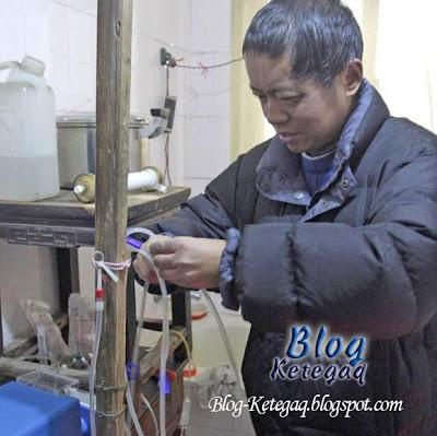 Mesin hemodialisis buatan sendiri