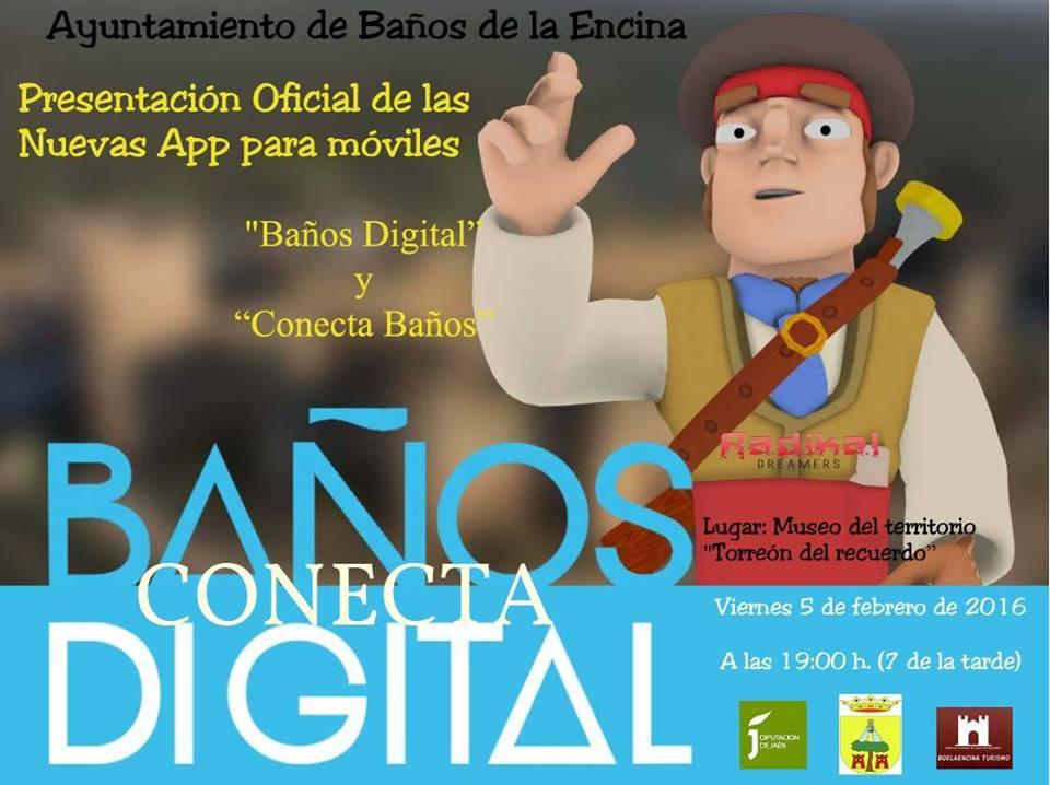 """""""Baños digital"""" y """"Conecta Baños"""""""
