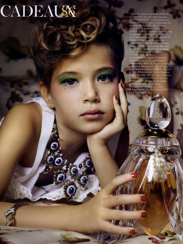 Thylane Blondeau Vogue