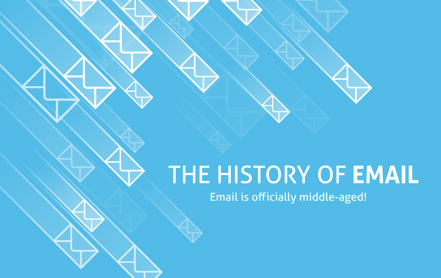 The evolution of email [infographic]
