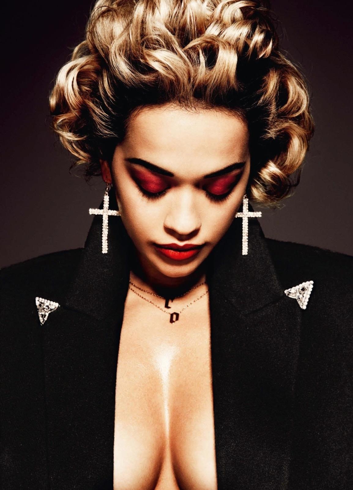 Smartologie: Rita Ora for Interview Germany August 2013