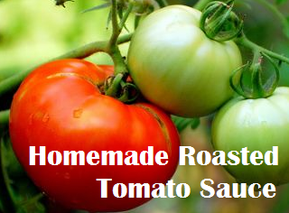 Homemade Roasted Tomato Sauce- thecreativeconfectionista.com