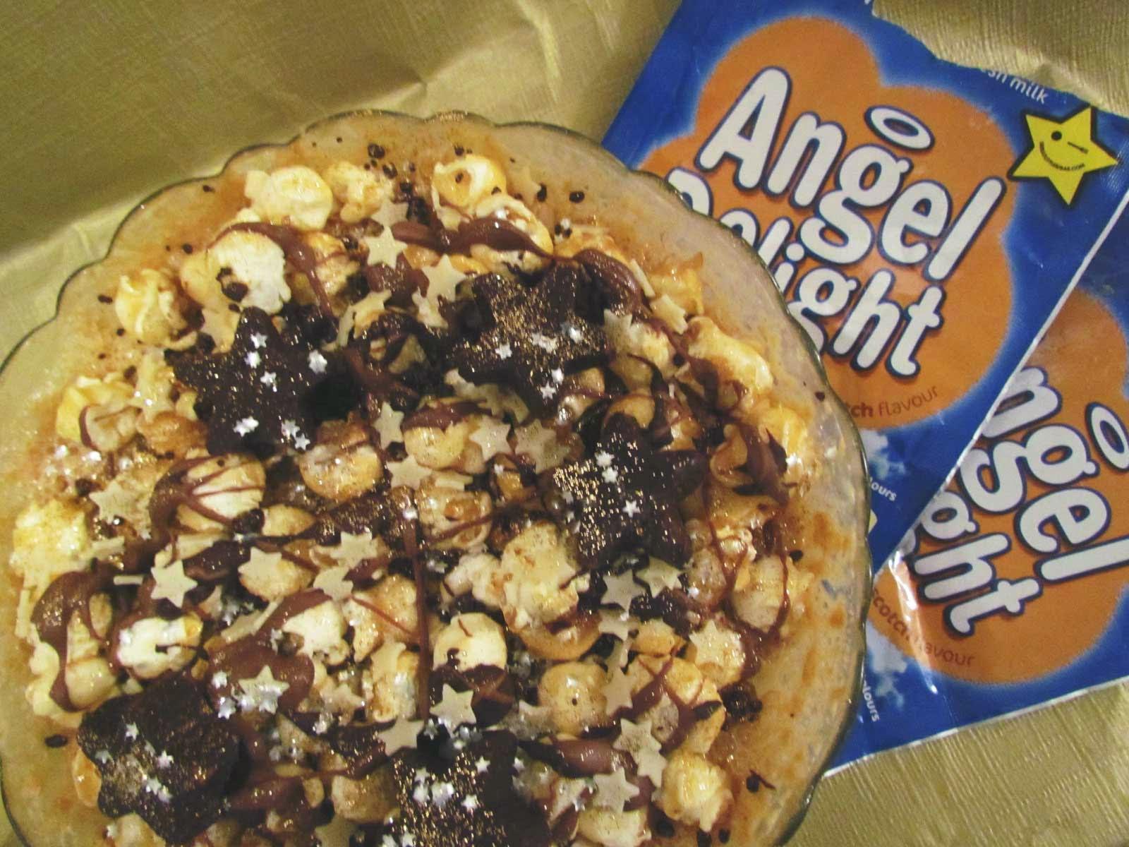 Angel Delight Firework Dessert