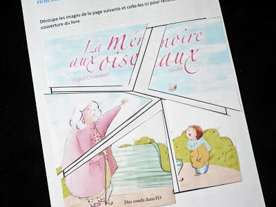La mémoire aux oiseaux - Télécharger le puzzle à imprimer (sur le blog)