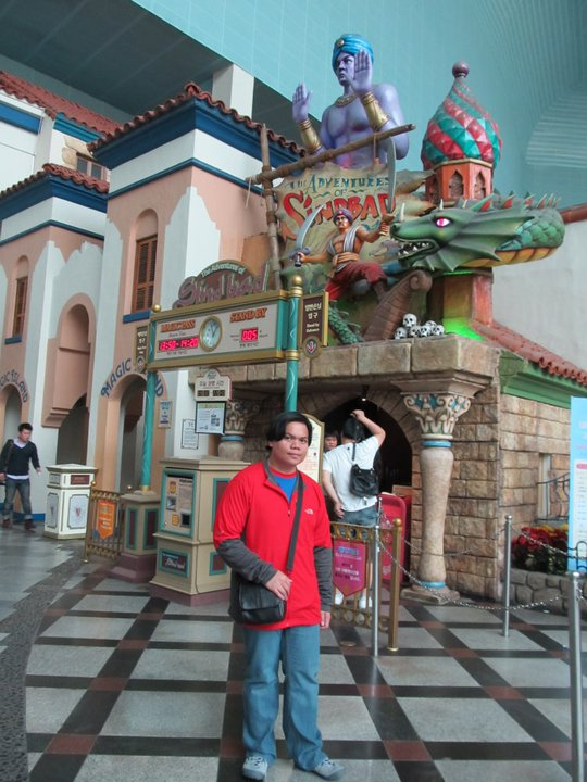Seoul Lotte World The Adventures of Sindbad