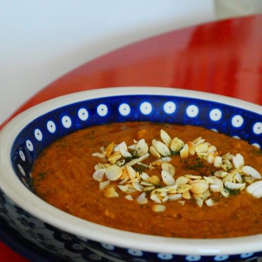 Zupa - krem Marrakesz z ciecierzycy i batatów