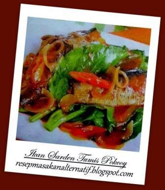 Resep dan Cara Membuat Ikan Sarden Tumis Pakcoy