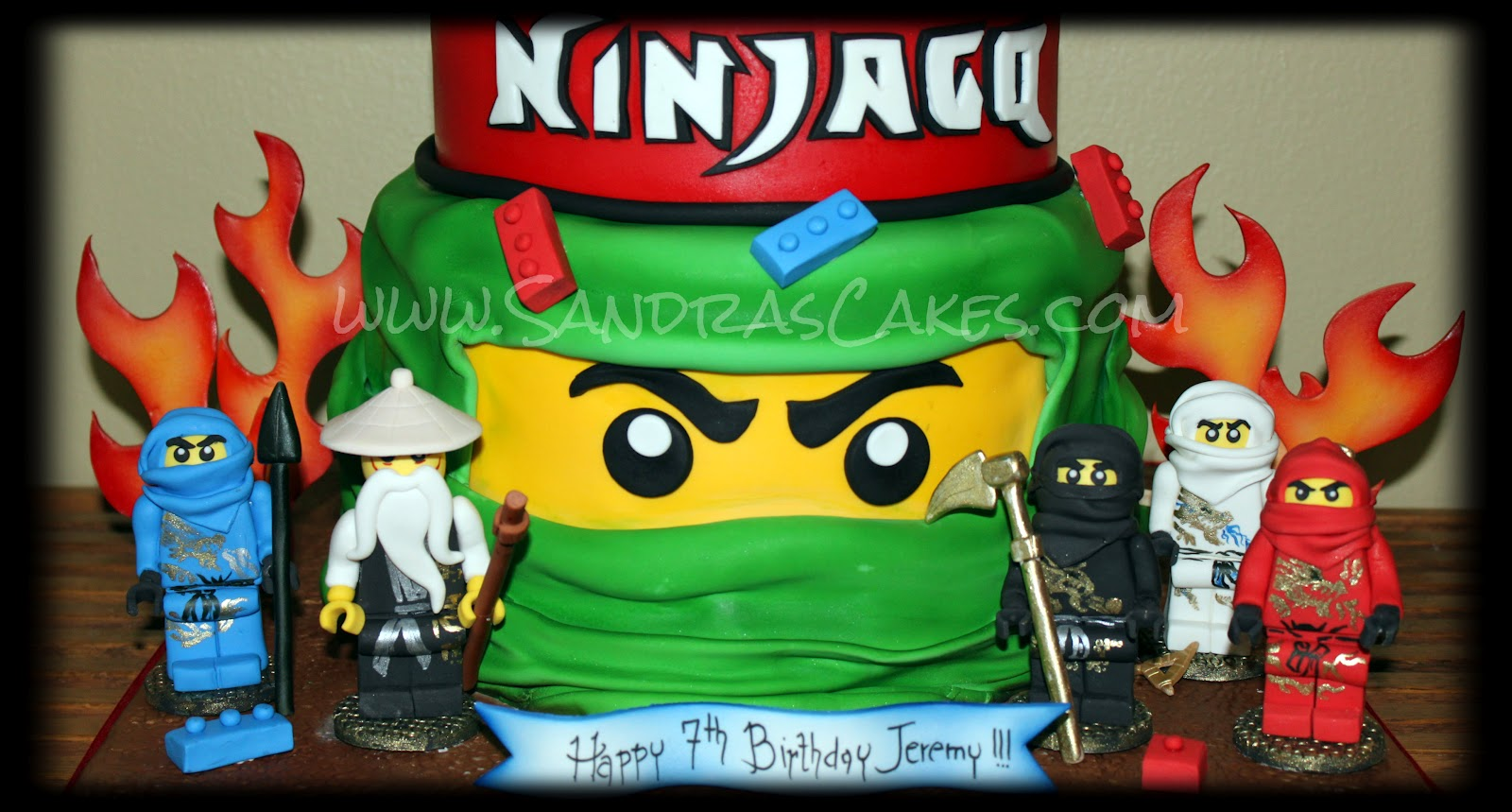 ninjago birthday cakes