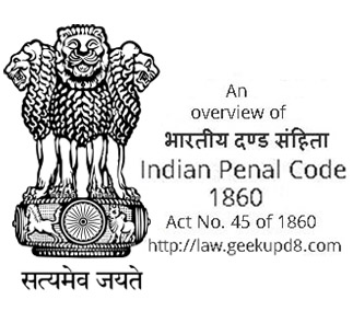 Indian Penal Code 1860 (Act No. 45 of 1860) India