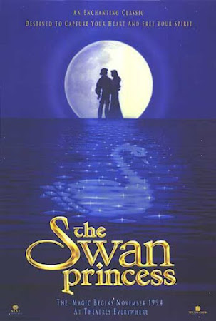 Poster Of The Swan Princess In Dual Audio Hindi English 300MB Compressed Small Size Pc Movie Free Download Only At worldfree4u.com