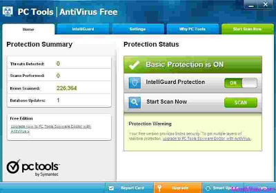 PC Tools Antivirus Free Offline Installer Download 2013