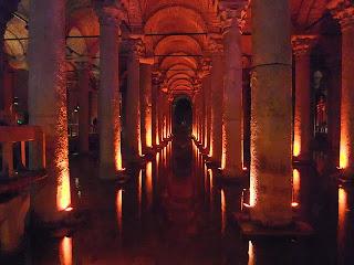 Basilica Cistern or Yerebatan sarayi