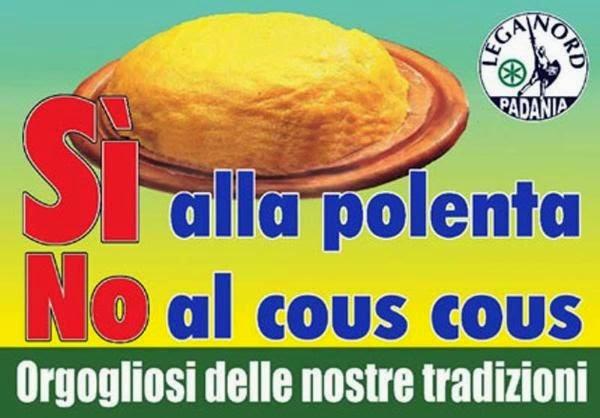 Affiche de la Ligue du nord - Padania