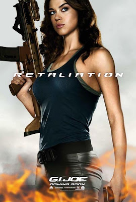 G.I. Joe: Retaliation International Character Movie Poster Set 1 - Adrianne Palicki as Layd Jaye