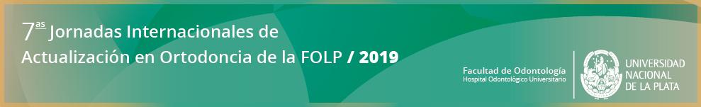 7mas Jornadas Internacionales de Actualización en Ortodoncia - FOLP 2017