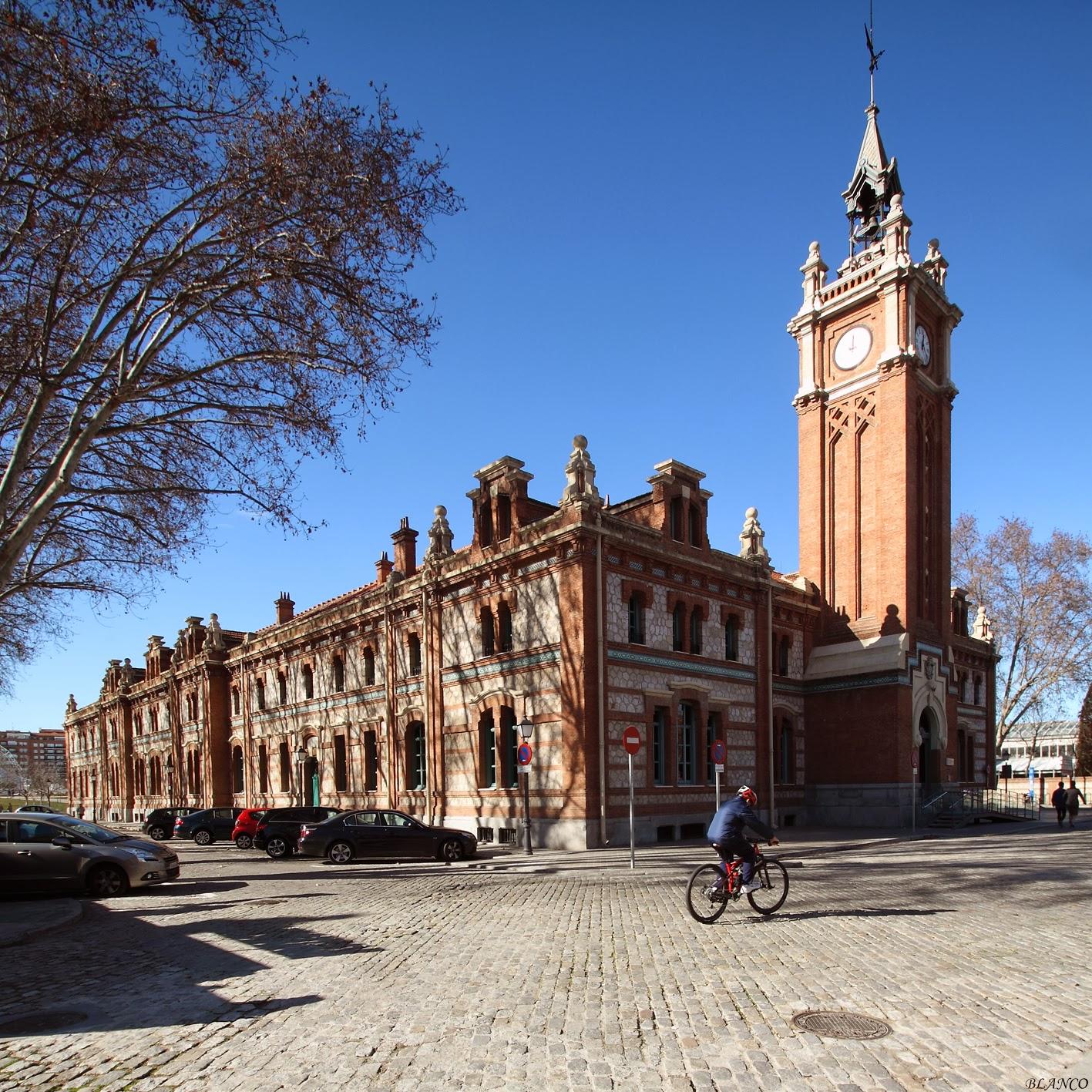 Madrid en foto matadero madrid casa del reloj - Casa de madrid ...