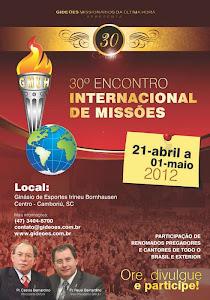 GIDEÕES MISSIONARIOS DA ULTIMA HORA