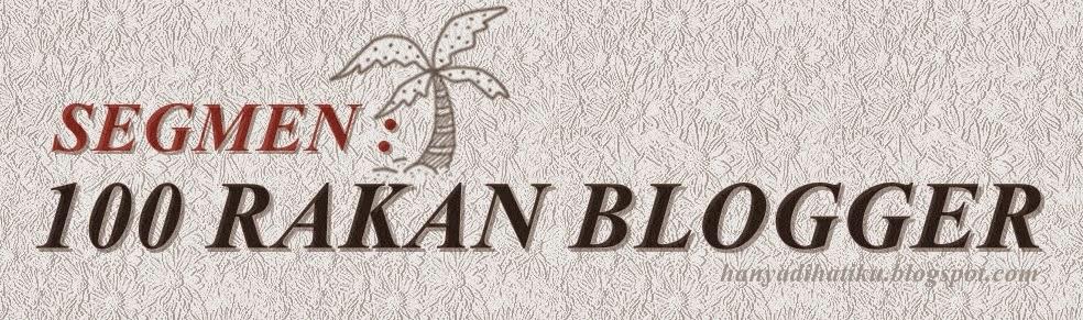 blogwalking rakan blogger
