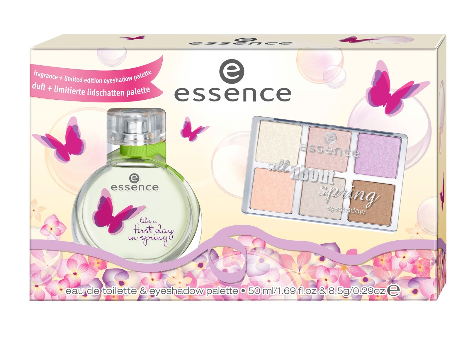 essence spring set – like a first day in spring