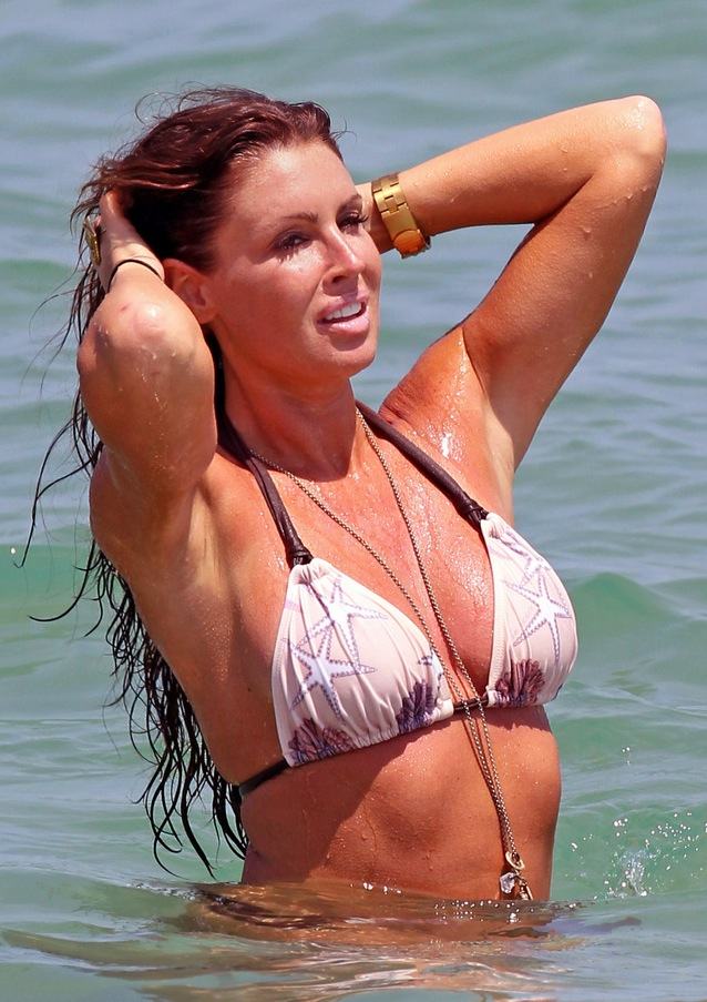 Happy 66th Birthday, Bikini! » Gossip/Rachel Uchitel in a Bikini