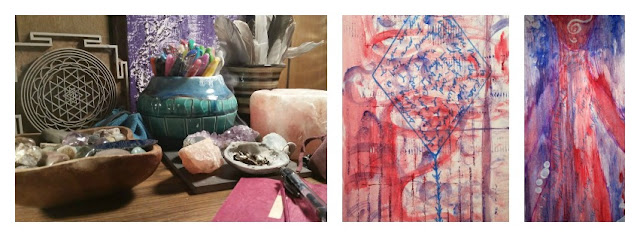 Creative Sacred Space by  Gloria Gypsy
