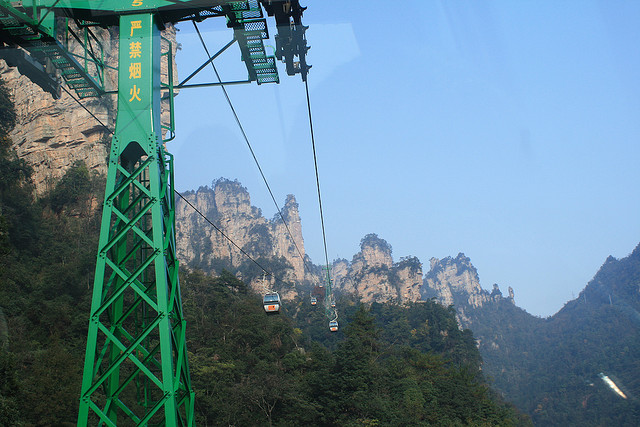 As belezas do Parque Nacional Zhangjiajie