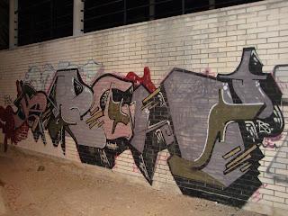 wall Graffiti - Sant Carles de La Rápita