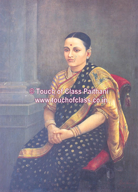 Raja Ravi Varma's Paintings: Portrait Woman