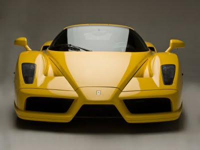 Yellow Ferrari Enzo Car Wallpaper HD