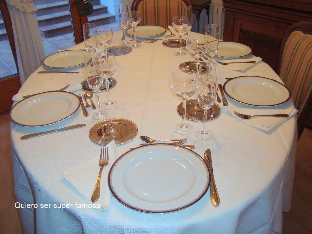 Quiero ser s per famosa como montar una mesa para invitados for Como montar una mesa