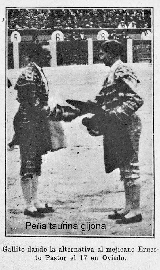 alternativa en Oviedo 1919