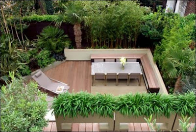 Model Kursi teras rumah kayu